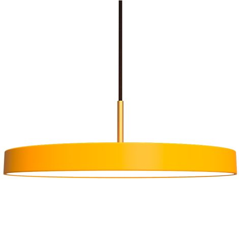 UMAGE - VITA copenhagen Deckenlampe Asteria Saffron Yellow
