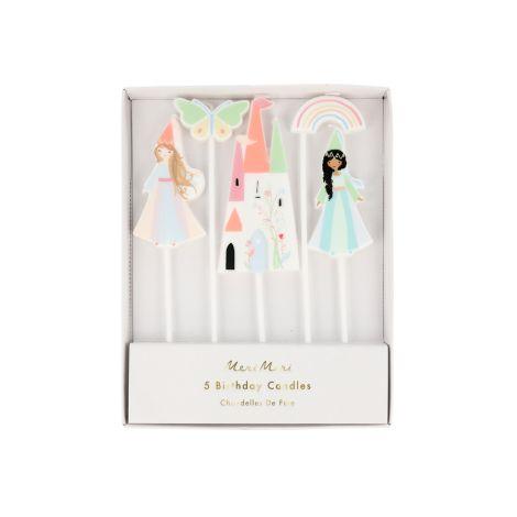 Meri Meri Kerzen Prinzessin 5er-Set