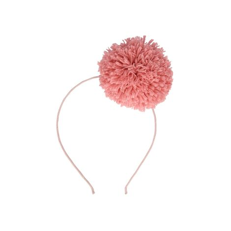 Meri Meri Haarband Pink Pompom