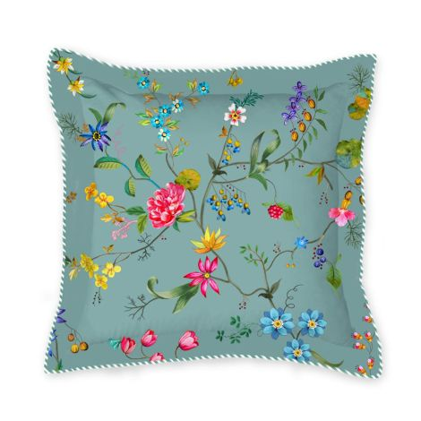 PIP Studio Zierkissen Petites Fleurs Square Blue 45x45