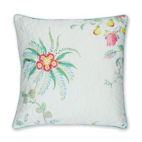 PIP Studio Zierkissen Fleur Grandeur Quilted White 45x45