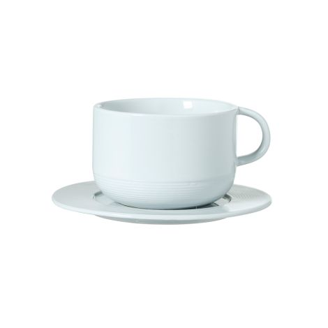 Bloomingville Tasse mit Unterteller Ice Blue •