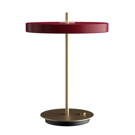 UMAGE - VITA copenhagen Tischlampe Asteria Table Ruby Red