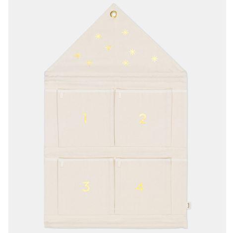 ferm LIVING Adventskalender House Off-White