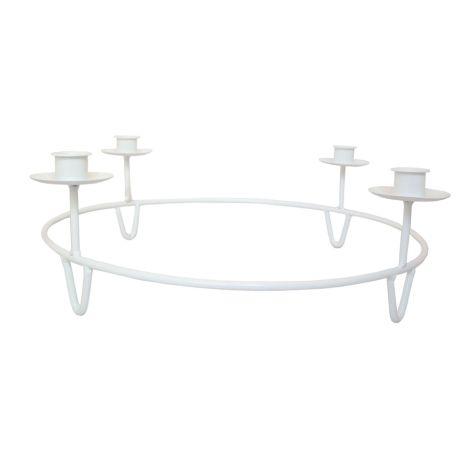 Storefactory Kerzenhalter Gullabo Table White