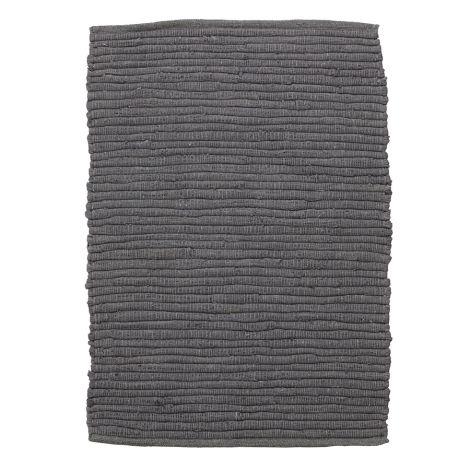 House Doctor Teppich Chindi Grau 90x60 cm