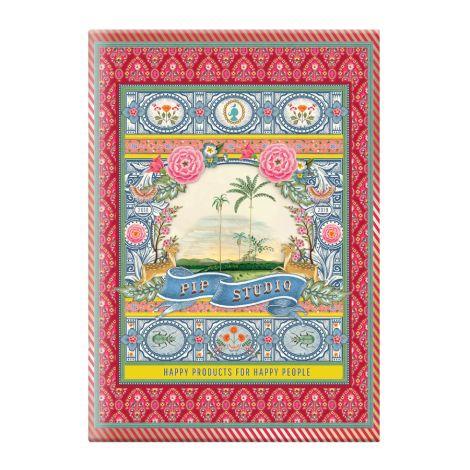 PIP Studio Notizbuch A4 liniert Indian Festival Red •