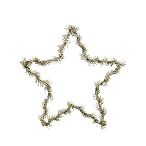 House Doctor Deko-Kranz Star Natur 33 cm