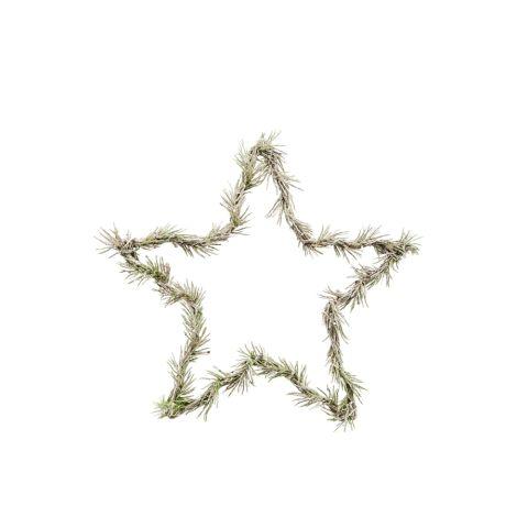 House Doctor Deko-Kranz Star Natur 25 cm