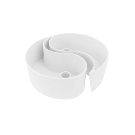 Storefactory Kerzenhalter Midbyn TWO-PIECE White