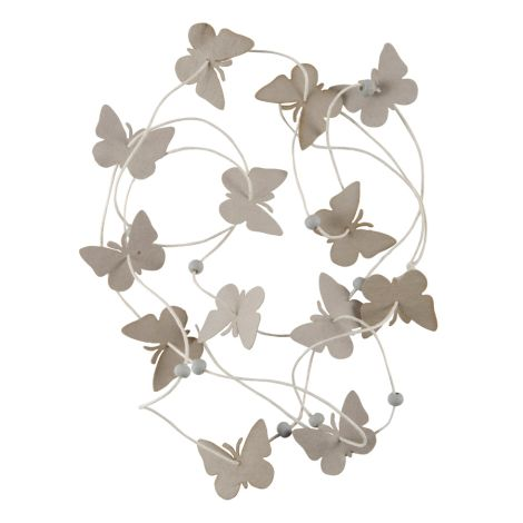 IB LAURSEN Girlande Schmetterling •