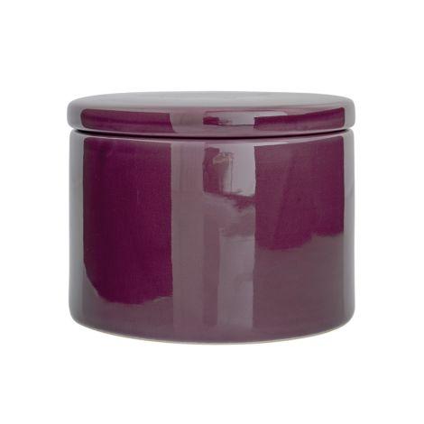 Bloomingville Aufbewahrungsdose Dark Purple
