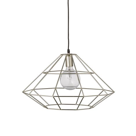 Bloomingville Deckenlampe Pernille Silber •