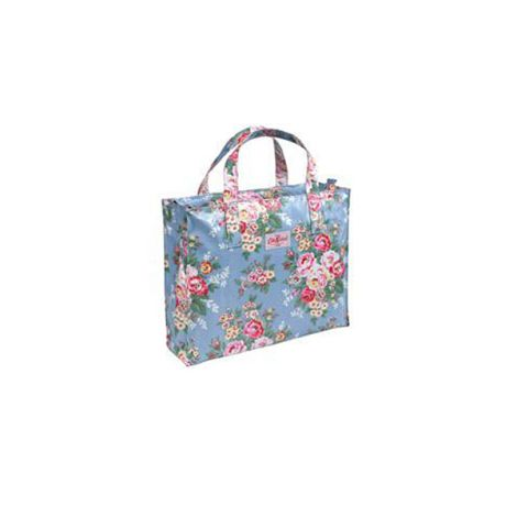 Cath Kidston Carry-All Tasche Candy Flowers Blue •