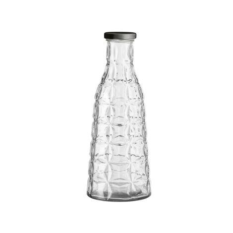 Bloomingville Große Glasflasche mit Deckel