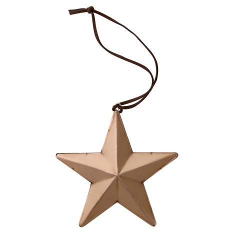 Bloomingville Dekoanhänger Star Kupfer