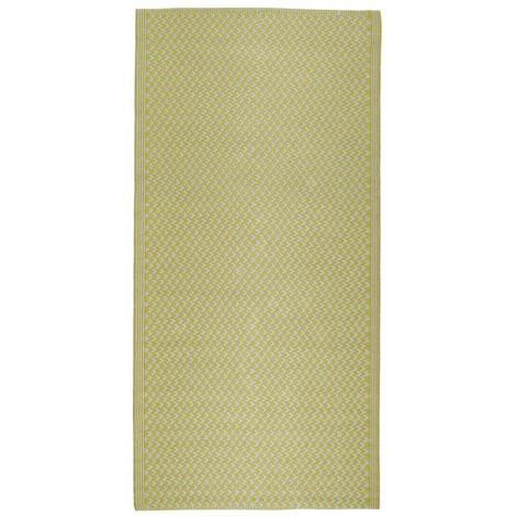 IB LAURSEN Teppich Gemustert Gelb 90 x 180 cm