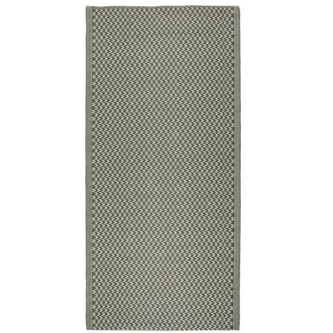 IB LAURSEN Teppich Gemustert Grün 90 x 180 cm