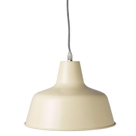 IB LAURSEN Mynte Lampe Metall Pastellgelb •