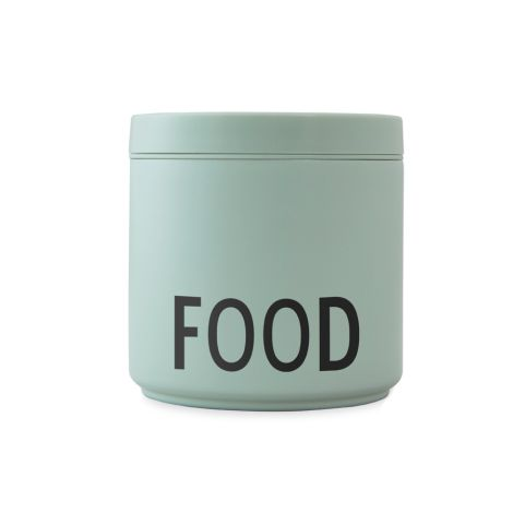 Design Letters Thermo Lunch Box Food L Green