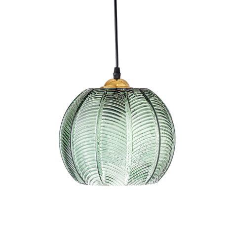 Bloomingville Deckenlampe Glas Green