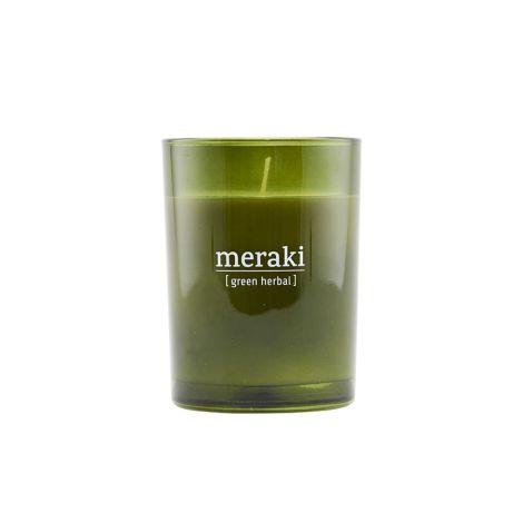 Meraki Duftkerze Green Herbal