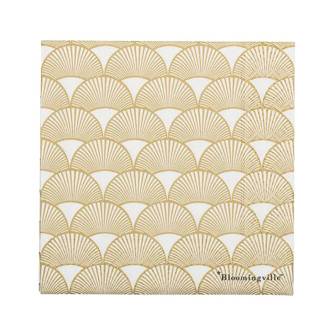 Bloomingville Papierserviette Gold 20 Stk.