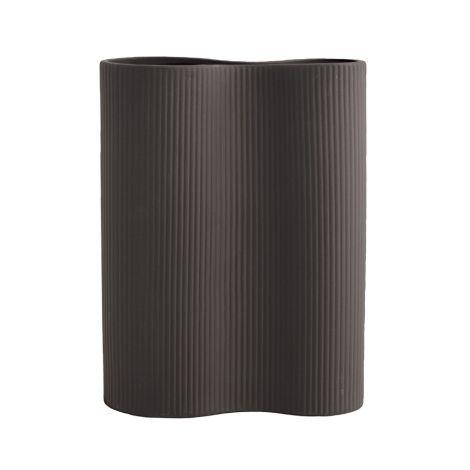 Storefactory Vase Bunn Keramik Dark Grey