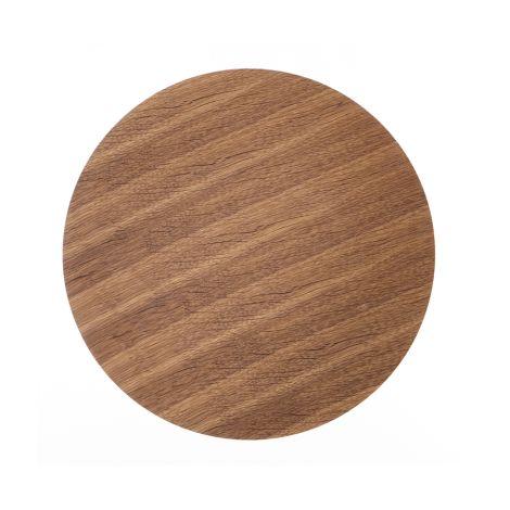 ferm LIVING Aufbewahrungskorb Deckel - Smoked Oak -  Small