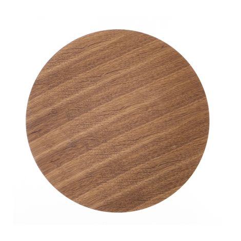 ferm LIVING Aufbewahrungskorb Deckel - Smoked Oak - Medium