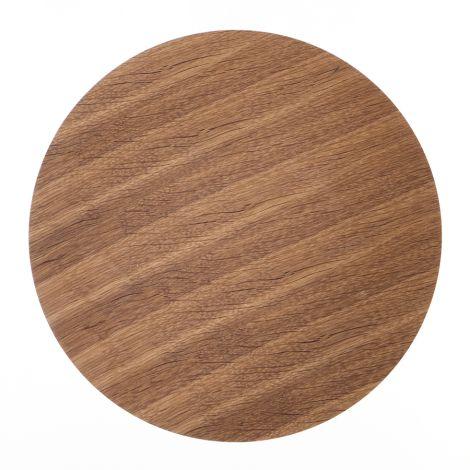 ferm LIVING Aufbewahrungskorb Deckel - Smoked Oak - Large