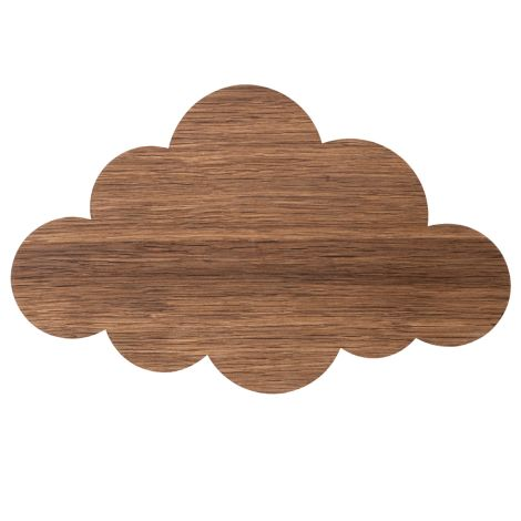 ferm LIVING Wandlampe Cloud Smoked Oak