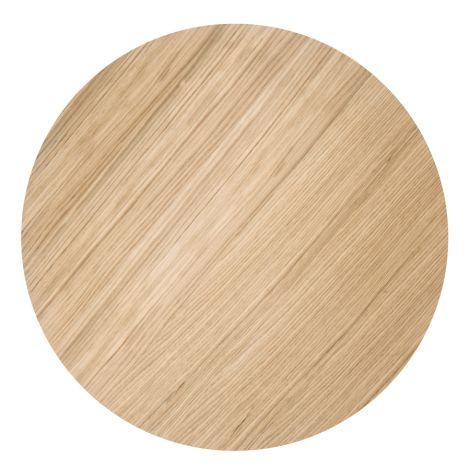 ferm LIVING Aufbewahrungskorb Deckel - Oiled Oak - Large