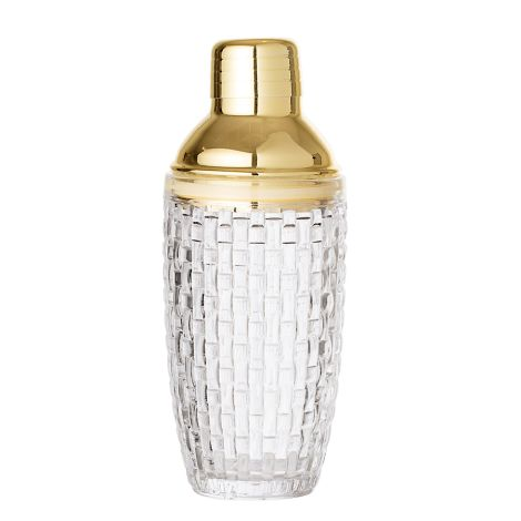 Bloomingville Cocktail Shaker aus Glas