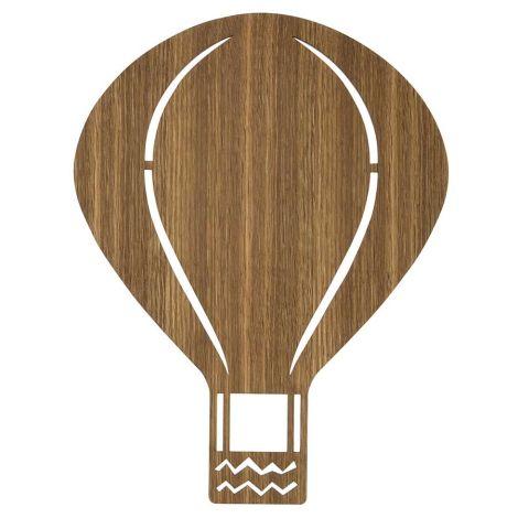ferm LIVING Wandlampe Air Balloon Smoked Oak