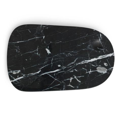 Normann Copenhagen Pebble Marmorplatte Large Black