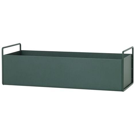 ferm LIVING Kleine Plant-Box/Multi-Box Dark Green