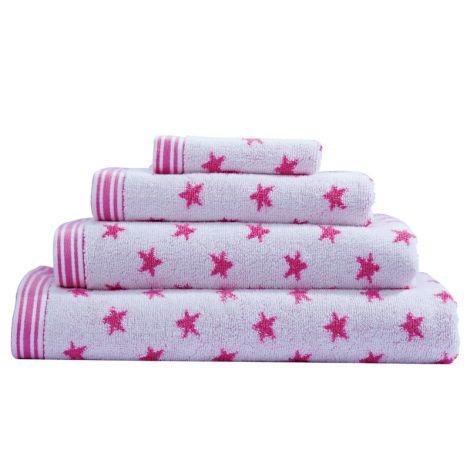 Cath Kidston Handtücher Star Ink Pink