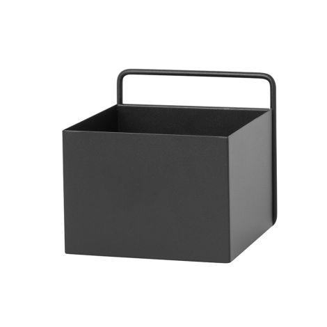 ferm LIVING Aufbewahrungsbox Wand Square Black