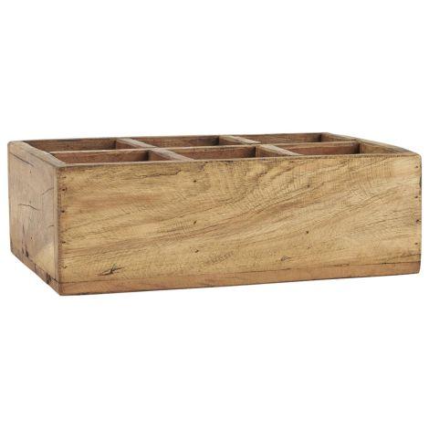 IB LAURSEN Kiste mit 6 Fächern UNIKA 30 cm