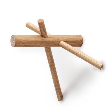 Normann Copenhagen Sticks Wandhaken 2er-Set Nature