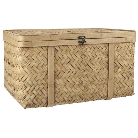 IB LAURSEN Koffer Bambus