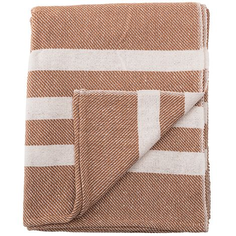 Bloomingville Tagesdecke Brown •
