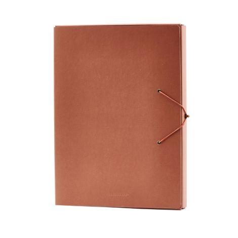 Monograph by House Doctor Dokumentenordner File Cognac