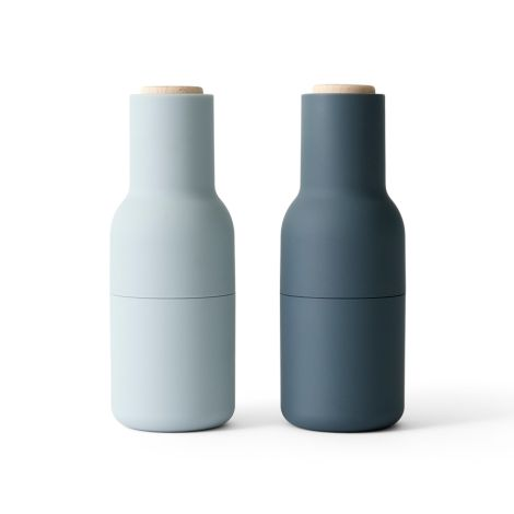 Menu Bottle Salz- & Pfeffermühle Blues Beech 2er-Set