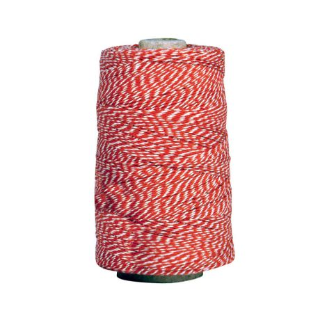 IB LAURSEN rot-weißes Garn 450m