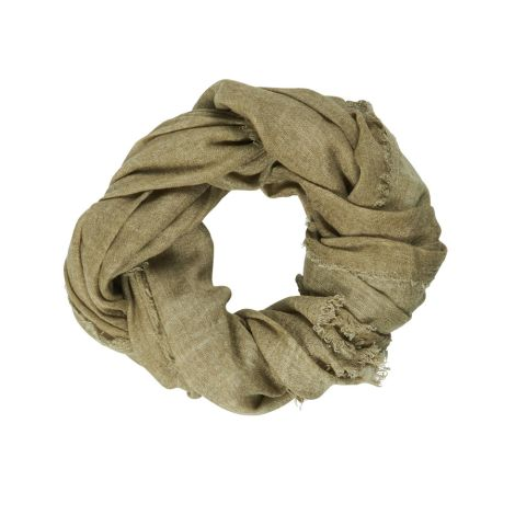 IB LAURSEN Schal Wolle Autumn Green
