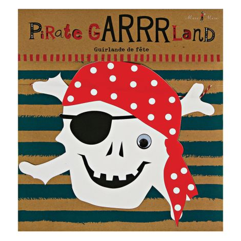 Meri Meri Ahoy there Pirate Girlande