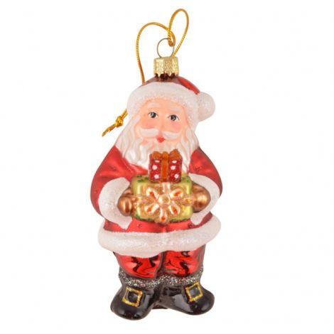 IB LAURSEN Weihnachtsanhänger Weihnachtsmann Rot •
