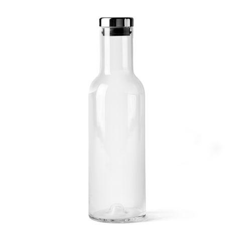 Menu Bottle Karaffe 1 L Clear/Steel